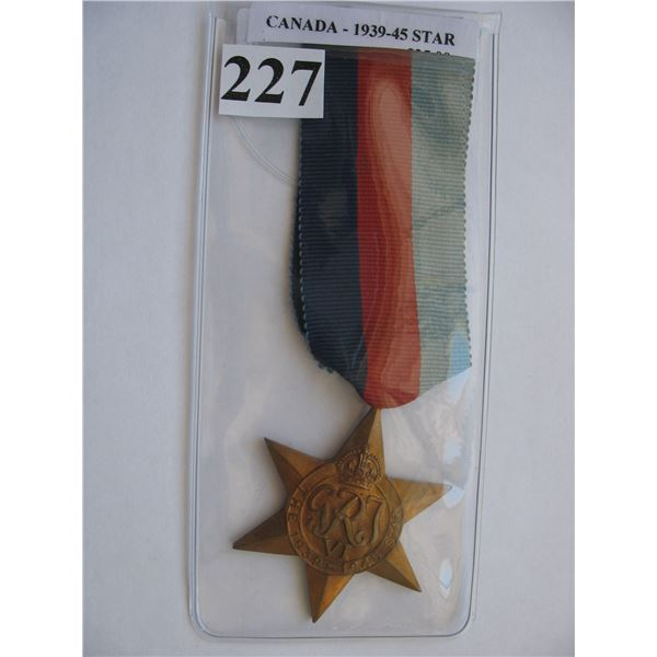 1939-45 STAR WAR MEDAL