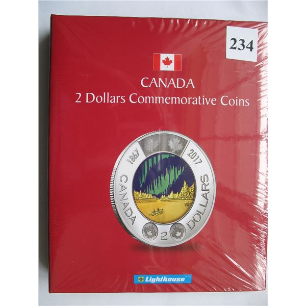 LIGHTHOUSE CANADA 2 DOLLAR COMMEMORATIVE COIN ALBUM - NEW (No Coins)