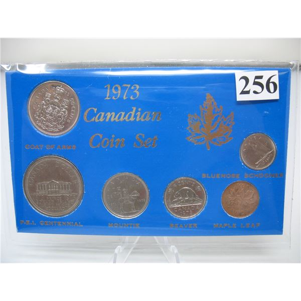 1973 CANADIAN COIN YEAR SET