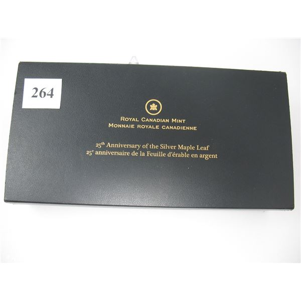 2013 CANADIAN MAPLE LEAF - 25th ANNIVERSARY FRACTIONAL SET