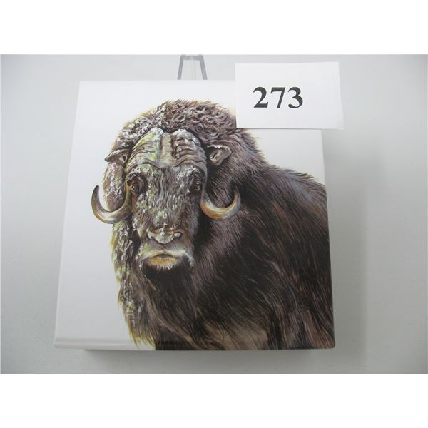 2015  $100 Silver Coin (99.99 Pure) - Muskox