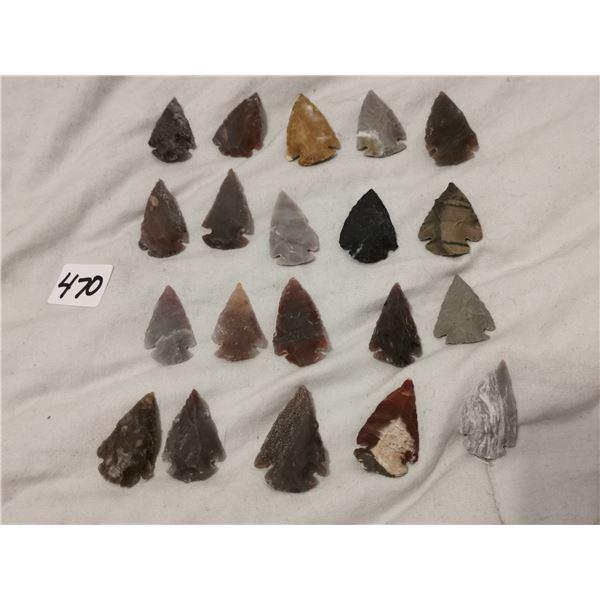 """20 1"""" arrowheads"""