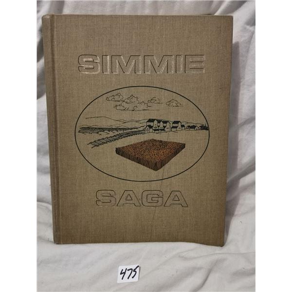 Simmie Saga - Saskatchewan history book