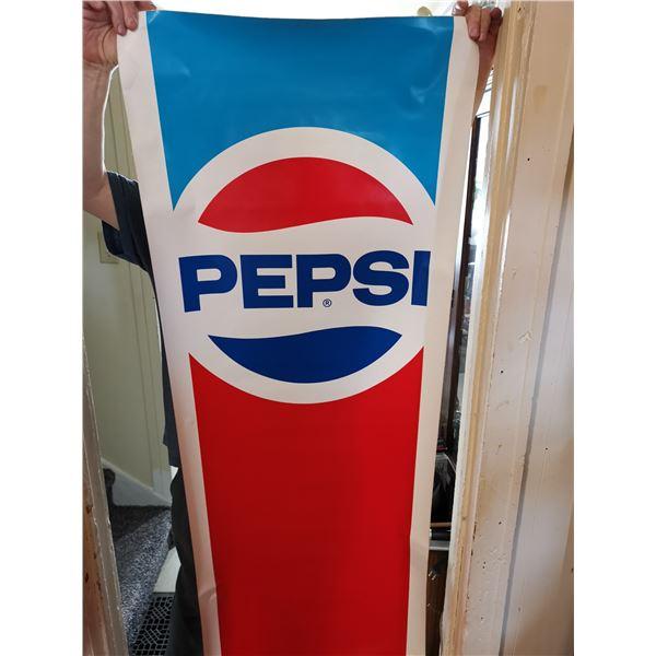 "Large Pepsi sticker 6' X 22.5"""