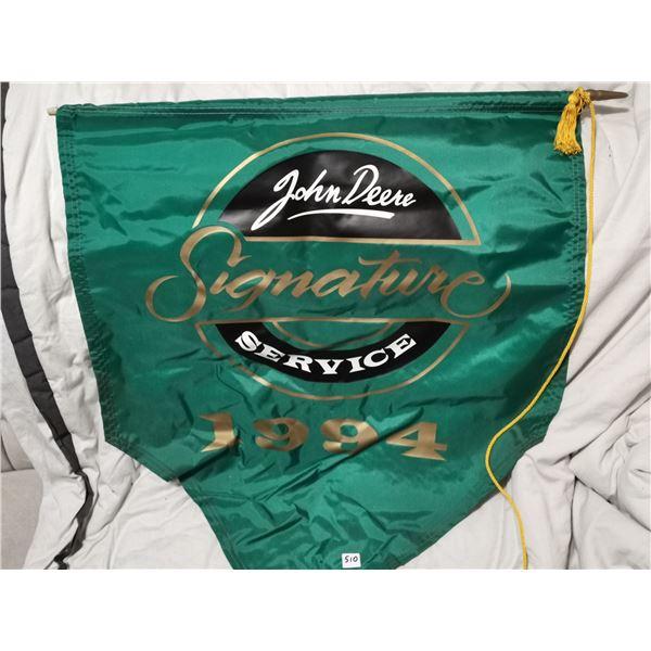 """1994 John Deere dealers banner 26"""" X 31"""""""