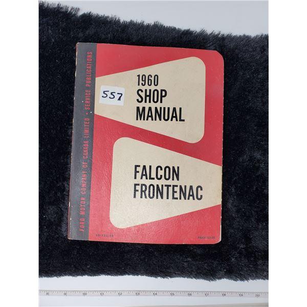 1960 falcon frontenac shop manual