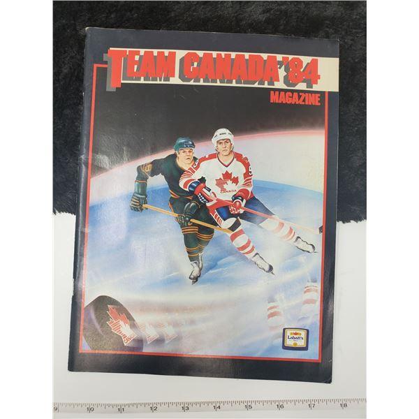 1984 team canada magazine