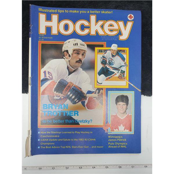 hockey magazine bryan trottier cover