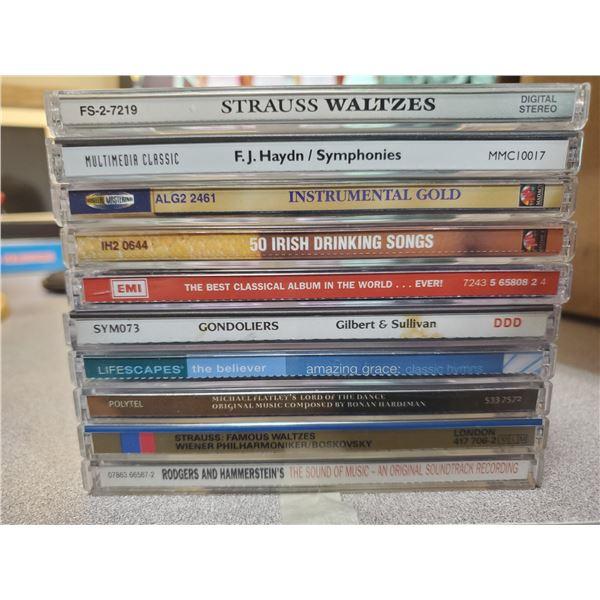 10 classical music cds