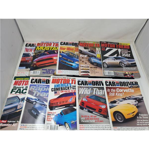 10 car magazines
