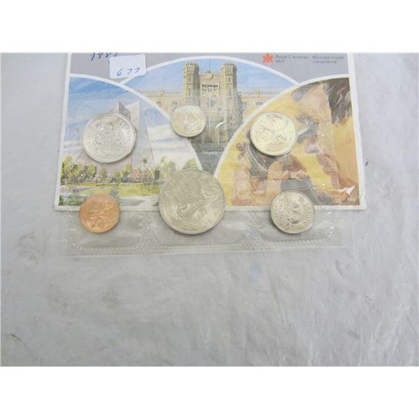 Canadian 1981 Mint Set