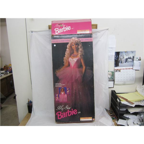 Vintage My Size Barbie Doll 3 Feet High with box and outfits circa 1992
