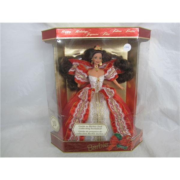 Barbie Special Edition Happy Holidays circa 1996 NIB