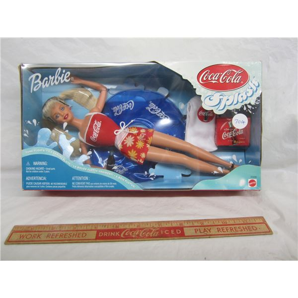 Barbie Coca-Cola Splash circa 1999 Nib
