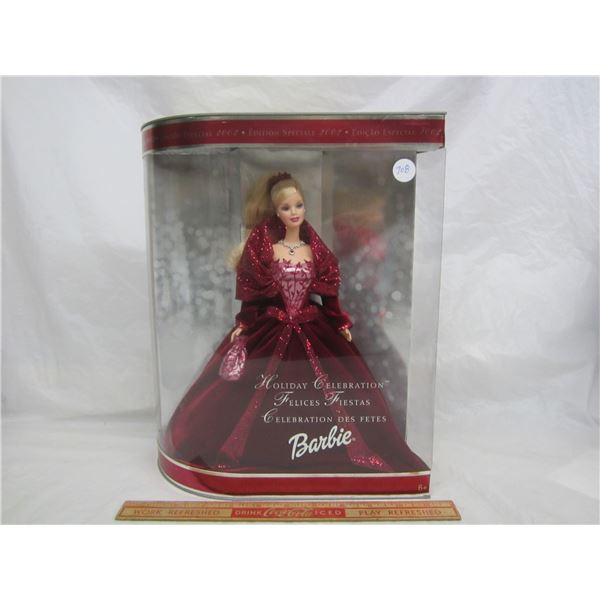 Barbie 2002 Special Edition Holiday Celebration NIB