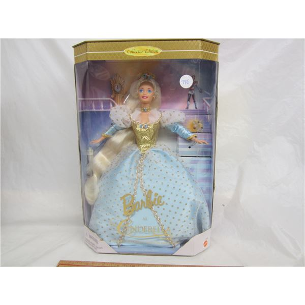 Barbie as Cinderella Collector's Edition circa 1996 NIB
