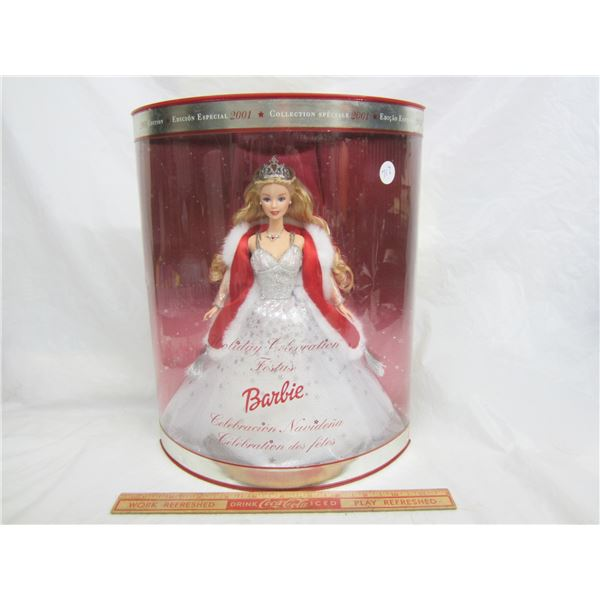 Barbie Holiday Celebration circa 2001 NIB