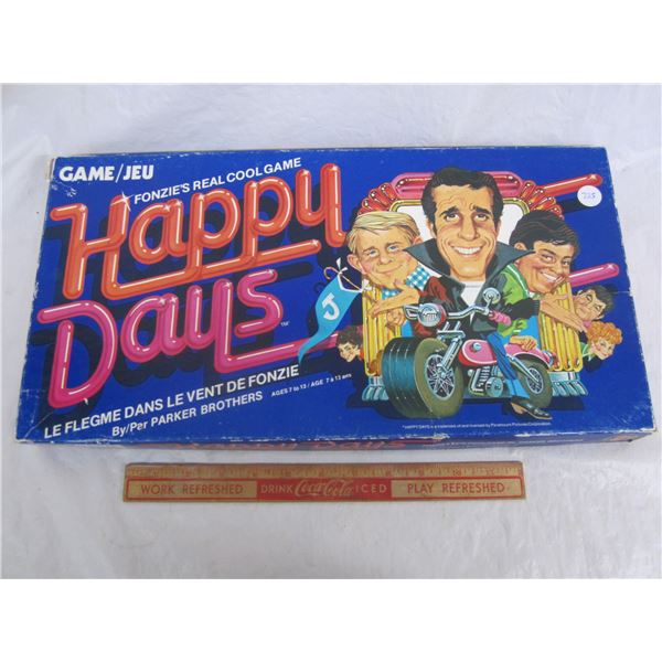 Happy Days Board Game