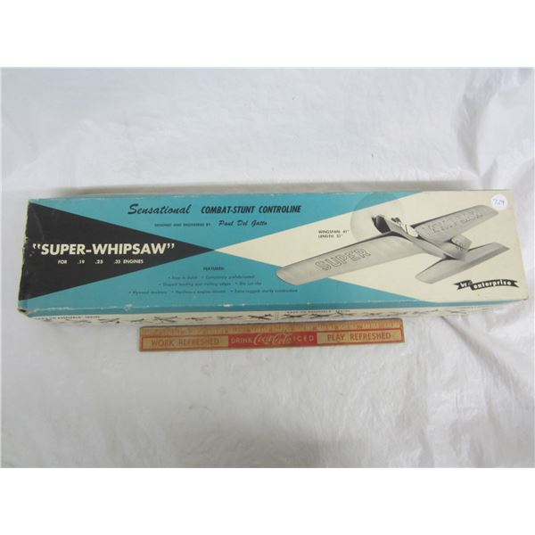 Super-Whipsaw Airplane Model Kit