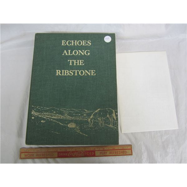 Echos Along the Ribstone  Alberta Czar area History Book