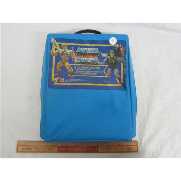 Masters of the Universe Action Figure Collectors Case circa 1986