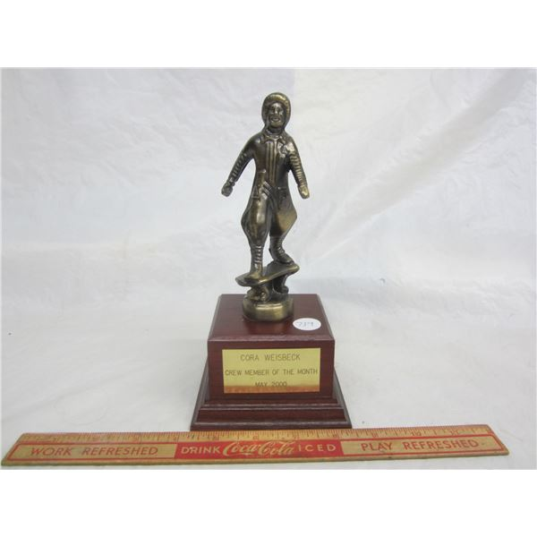 Vintage McDonalds Restaurant Employee of the Month Trophy