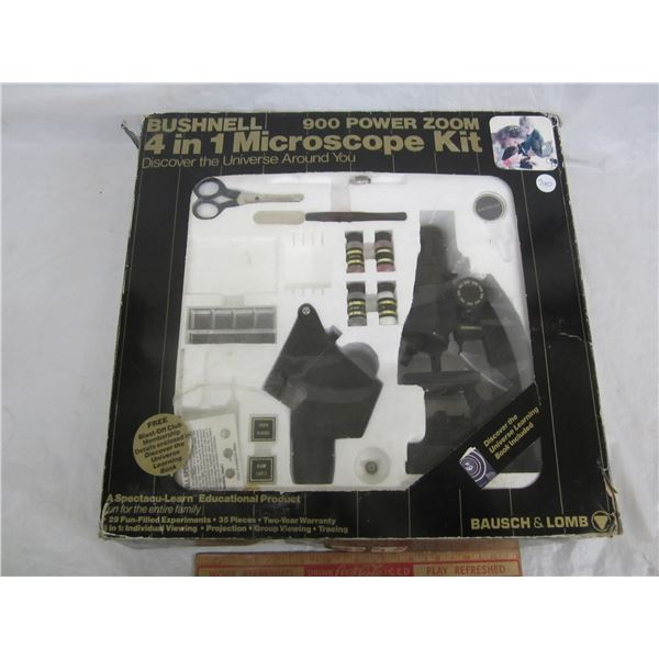 Vintage Bushnell Microscope Kit