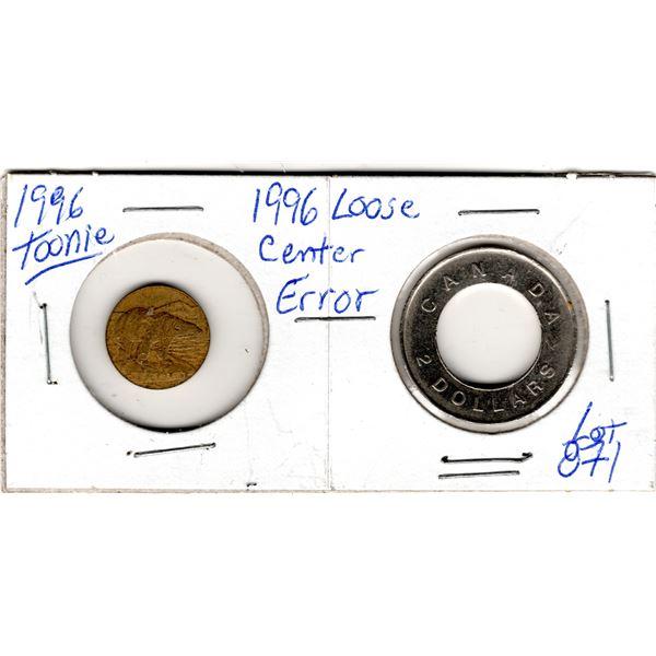 871 1996 TOONIE ERROR CENTER CAME OUT.