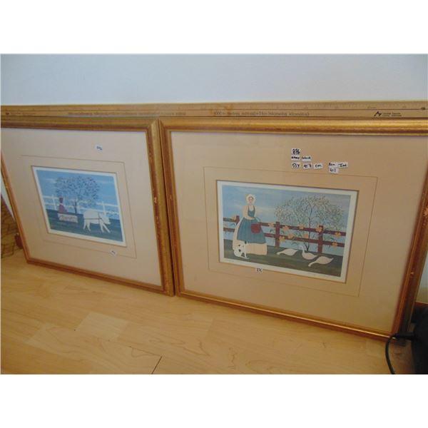 876 REN WIL INC FRAMED NANCY LUBICK ART