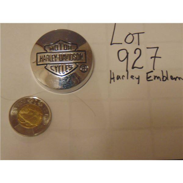 927 HARLEY DAVIDSON EMBLEM