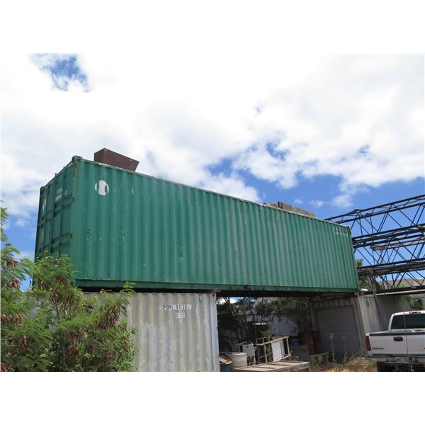 Green Container 40ft