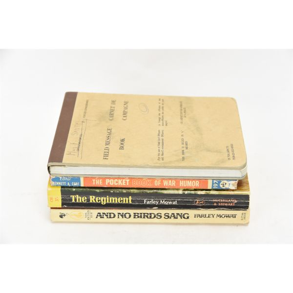 Mixed Lot Military Softcover Books