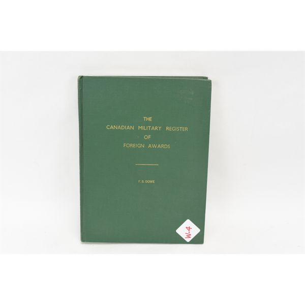 Canadian Military Register of Foreign Awards
