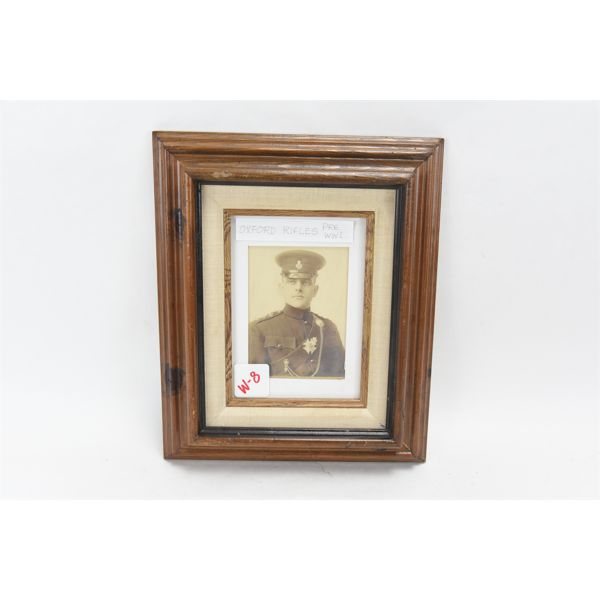 Photograph, Framed: Oxford Rifles