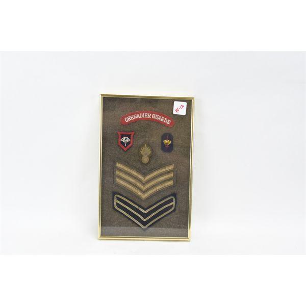 Framed Badges & Flashes