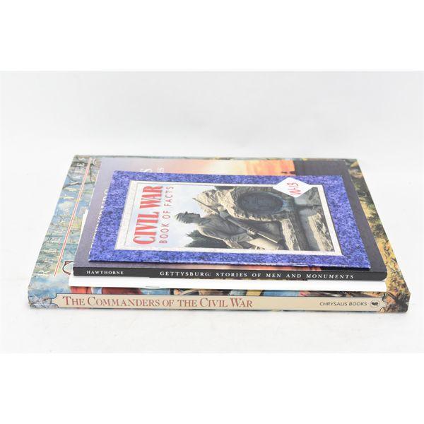 Mixed Lot American Civil War Books