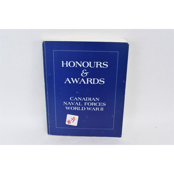 Honours & Awards Canadian Naval Forces WW2