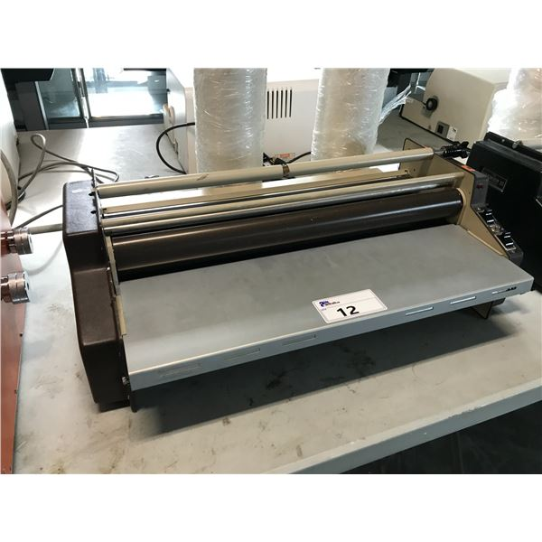 "PREMIER 111 24"" LAMINATOR COMES WITH 2 ROLLS OF FILM"