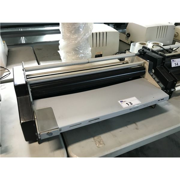 "PREMIER 111 24"" LAMINATOR COMES WITH 1 ROLL OF FILM"