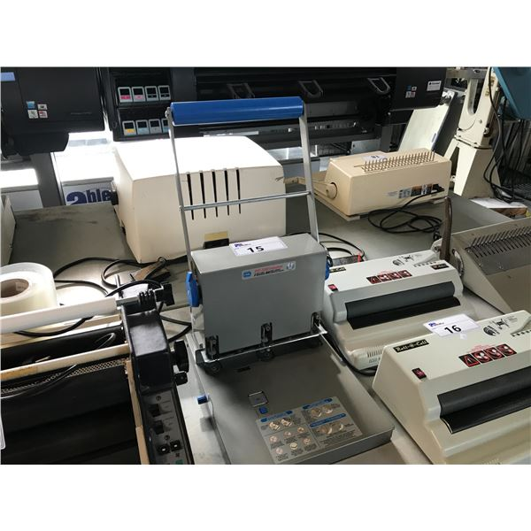 CARL XHC-3300 INDUSTRIAL 300 SHEET CAPACITY 3 HOLE PUNCH SYSTEM