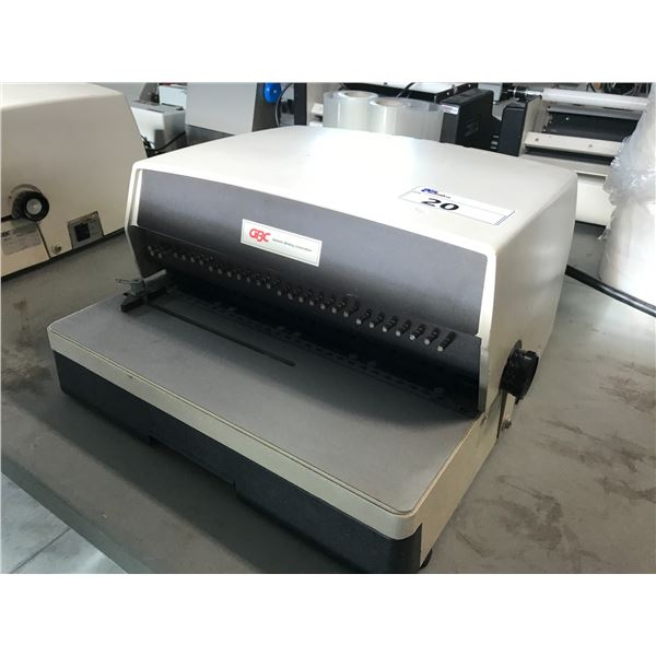 GBC ELECTRIC BINDING MACHINE