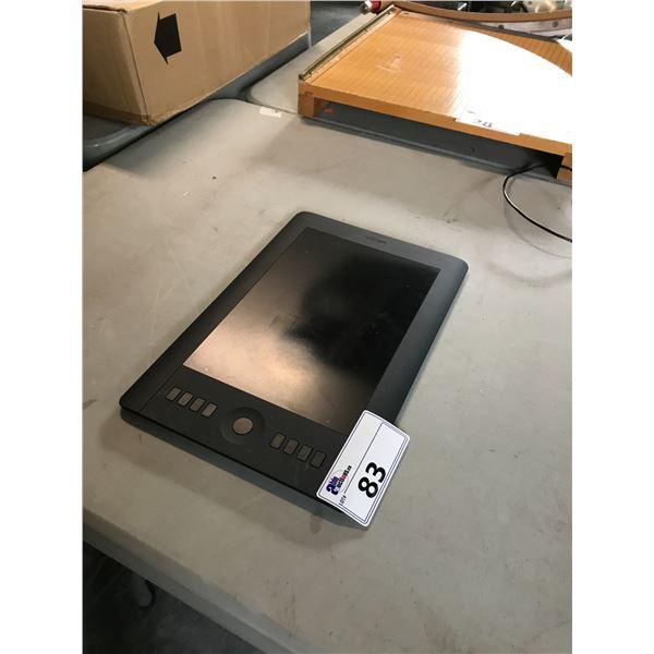 WACOM PTH-651 GRAPHIC TABLET, NO PEN, NO POWER CABLE