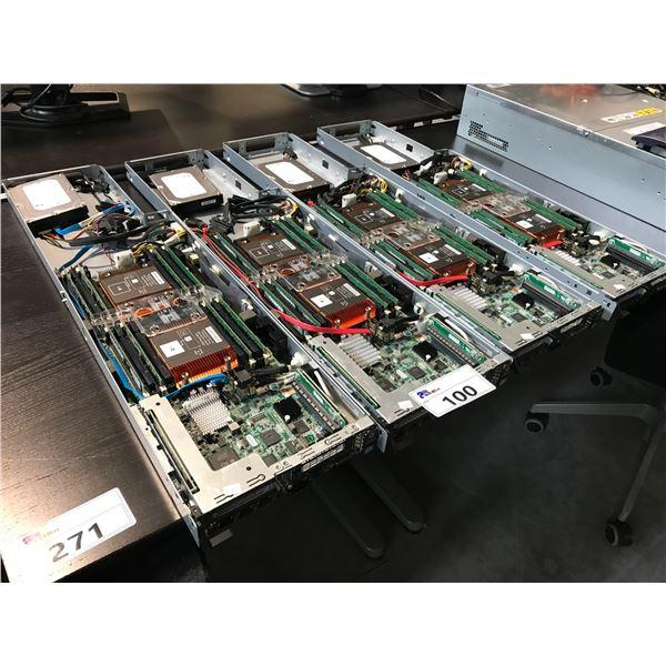 8 HP R230T GEN 8 POWER EDGE 3.5GHZ XEON E3-1240 V5 32GB RAM MATROX G200ER SERVERS