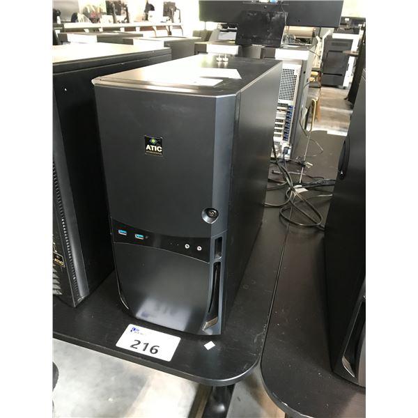 ATIC 3D BOX 1X 3.4GHZ CORE I7-4770 (8) 32GB (4X8GB) WINDOWS 10 PRO 64X
