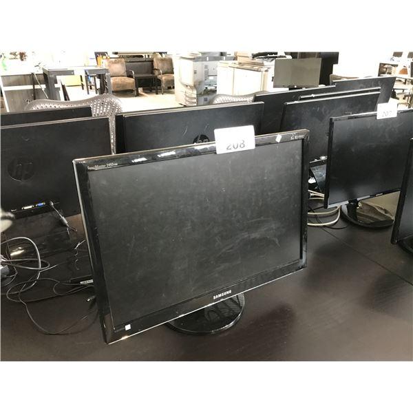 """SAMSUNG 24"""" LCD MONITOR"""