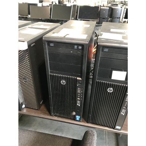 HP Z420 1X 3.6GHZ XEON E5-1620 (8)64GB (8X8GB) 8 SLOTS/DDR3 MAX: 64GB QUADRO N600 WINDOWS 10 PRO