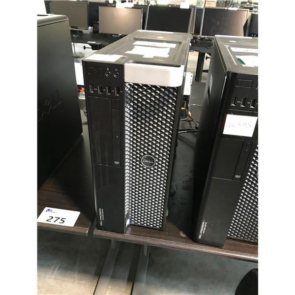 DELL PRECISION 5810 1X 3.0GHZ XEON E5-1660 V3 (12) 64GB (8X8GB) 8 SLOTS/DDR4 MAX: 256GB GTX 980
