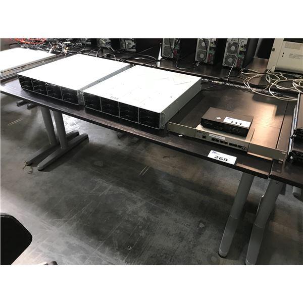 BLACK 5' X 2.5' COMPUTER TABLE