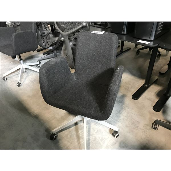 GREY LOW-BACK TILTER CHAIR