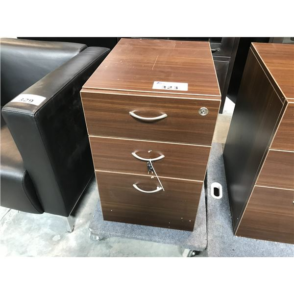 SANDALWOOD 3 DRAWER PEDESTAL